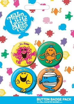 MR MEN button