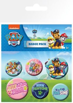 Button Paw Patrol - Pups
