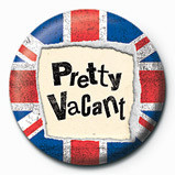 PRETTY VACANT button