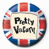 PRETTY VACANT button