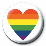PRIDE - HEART button