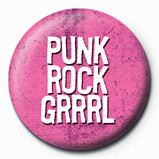 PUNK ROCK GIRL button