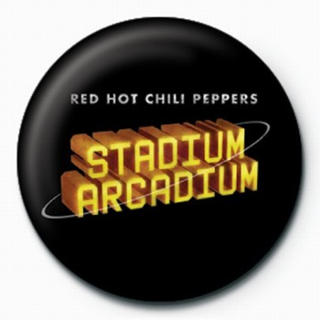 RED HOT CHILI PEPPERS STADIUM button
