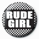SKA - Rude girl button