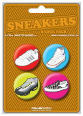 SNEAKERS button