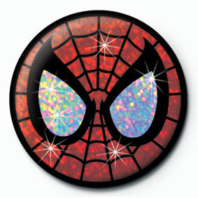 SPIDER-MAN button