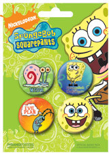 SPONGEBOB SQUAREPANTS button