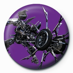 TRANSFORMERS - barricude button