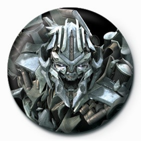 TRANSFORMERS - megatron button