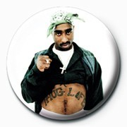 Tupac - Thug Life button