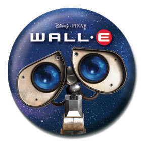 WALL E - eyes button