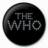 WHO - pinball logo button
