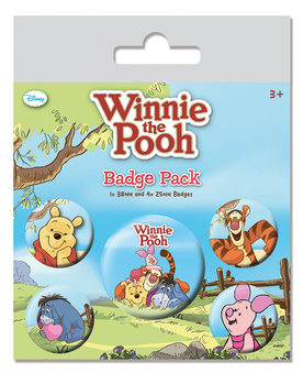 Button Winnie de Poeh - Characters