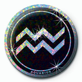 ZODIAC - Aquarius button