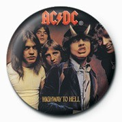 Button AC/DC - HIGHWAY