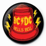 Button AC/DC - Hells Bell