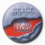 Button AC/DC - RAZORS EDGE
