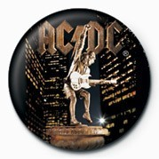 Button AC/DC - STIFF  UPPER LIP