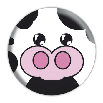Button  ANIMAL FARM - Cow