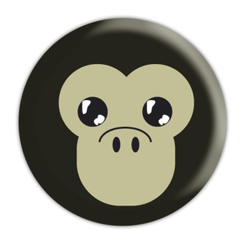 Button  ANIMAL FARM - Monkey