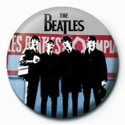 BEATLES (IN PARIS) Button