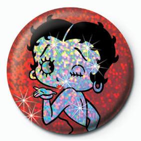 Button BETTY BOOP