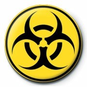 Button Biohazard