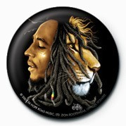 Button BOB MARLEY - jurek