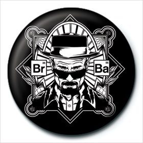 Button Breaking Bad - Frame