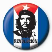 Button CHE GUEVARA - flagge