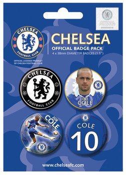 Button CHELSEA - j. cole