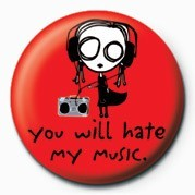 Button D&G - EVE.L - HATE MY MUSI