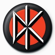 Button DEAD KENNEDYS - LOGO