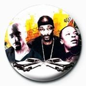 Death Row (Rap History) Button