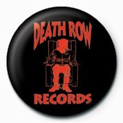 Button  Death Row (Red Logo)