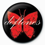 Button DEFTONES - BUTTERFLY
