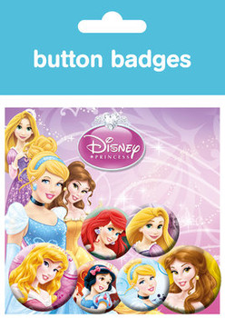 Button DISNEY PRINZESSINNEN