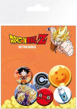 Button Dragon Ball Z - Mix