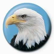Button  EAGLE HEAD