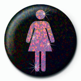 Button FEMALE ICON