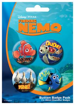 Button FINDING NEMO
