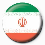 Flag - Iran Button
