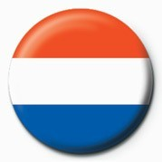 Button Flag - Netherlands