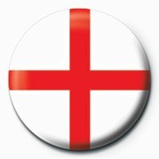 Button FLAG - ST GEORGES