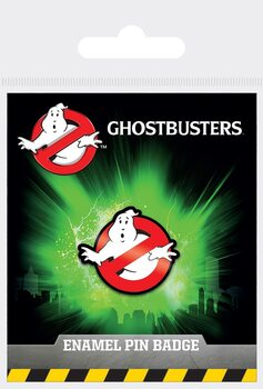 Button Ghostbusters - Logo