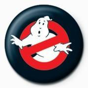 Button GHOSTBUSTERS - symbol logo