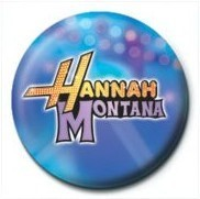Button HANNAH MONTANA - Logo