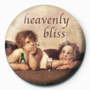 HEAVENLY BLISS Button