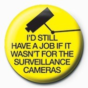 Button I'D STILL HAVE A JOB (SURV