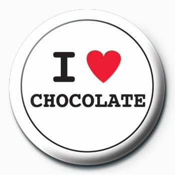 Button  I Love Chocolate